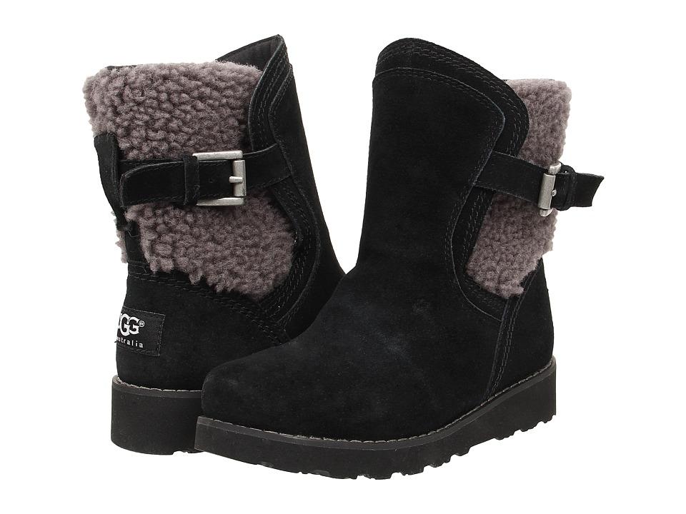 UGG Kids Jayla Black Girls Shoes