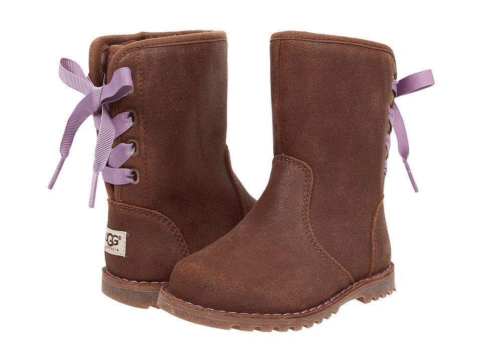 UGG Kids Corene Chocolate Girls Shoes