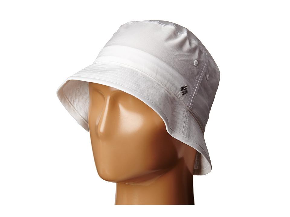 Columbia Adult Bucket Hat White Bucket Caps