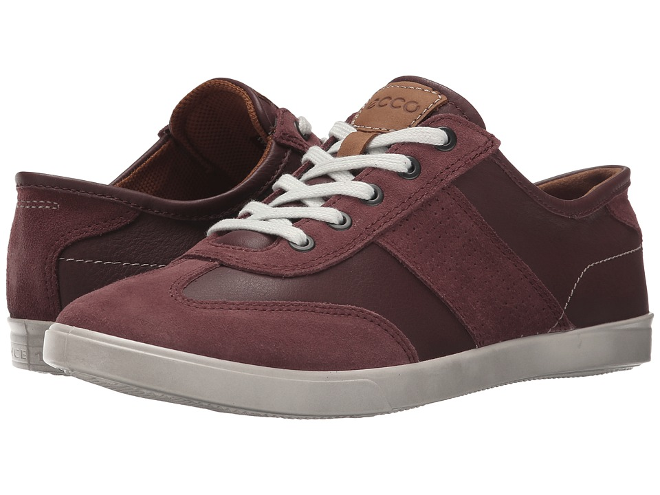 ECCO Collin Retro Sneaker Port/Port Mens Shoes