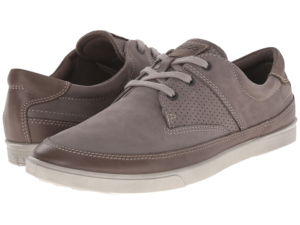 ECCO Collin Nautical Perf Warm Grey/Warm Grey Mens Shoes