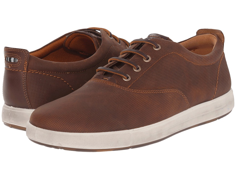 ECCO Eisner Retro Sneaker Amber/Mink Mens Shoes