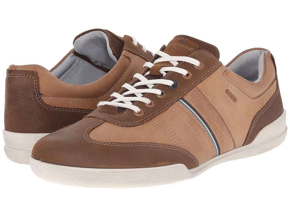 ECCO - Enrico Retro Sneaker (Camel/Whiskey) Men