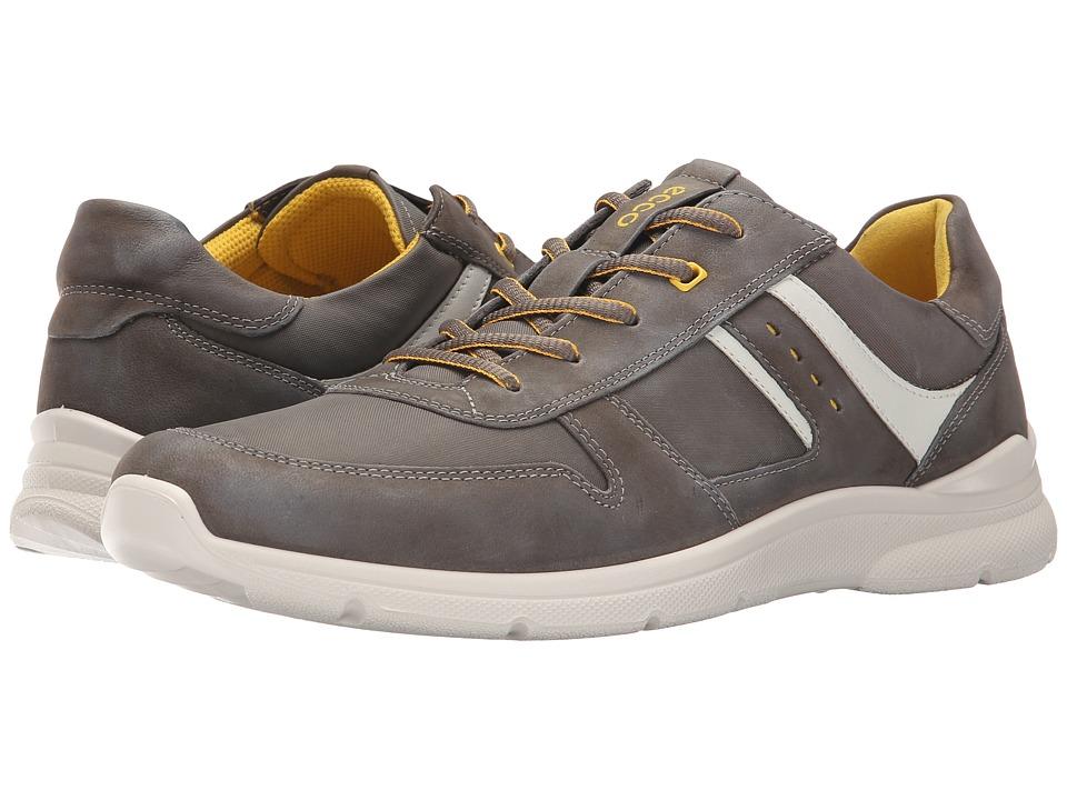 ECCO - Irondale Retro Sneaker (Tarmac/Tarmac) Men's  Shoes
