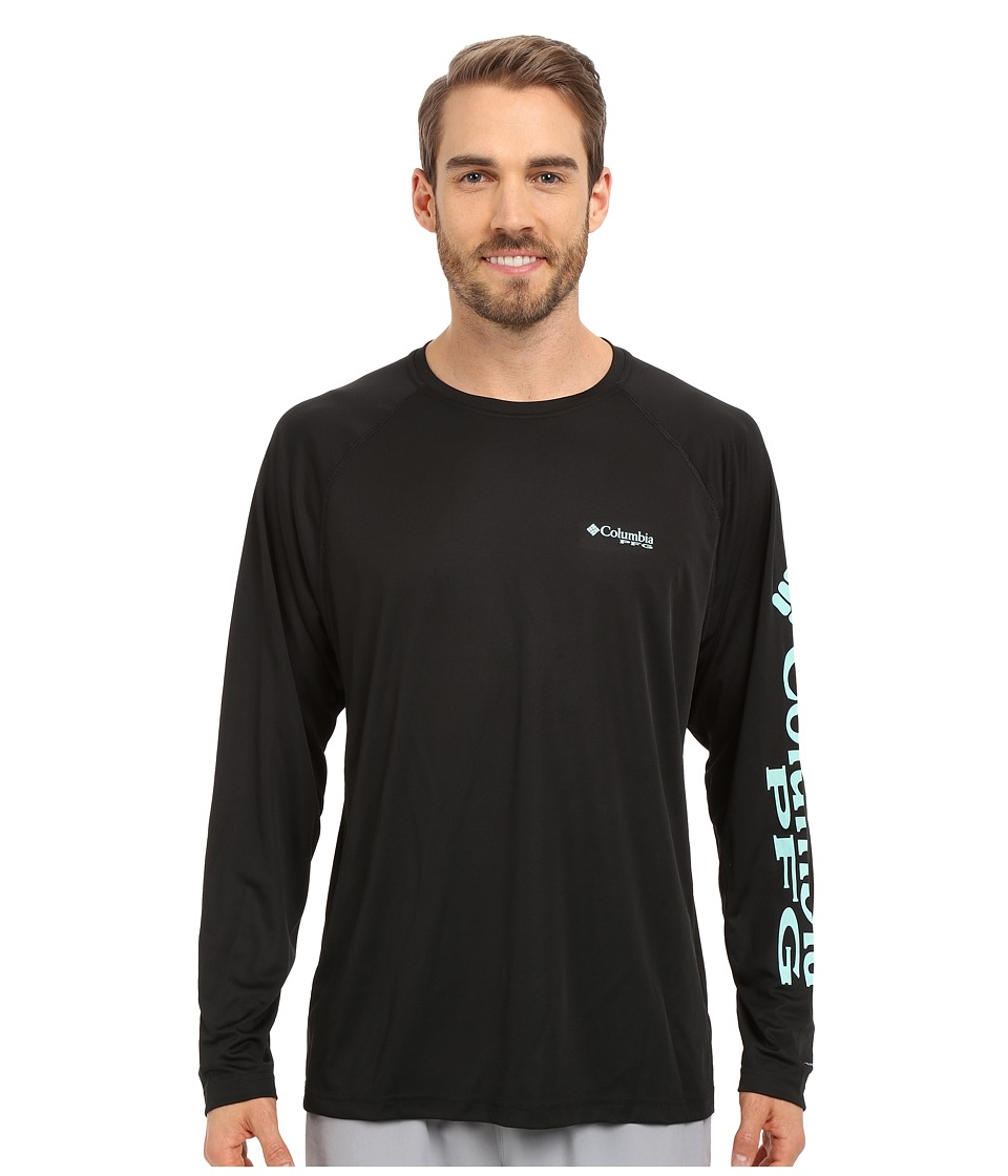 Columbia Terminal Tackle L/S Shirt (Black/Gulf Stream Logo) Men