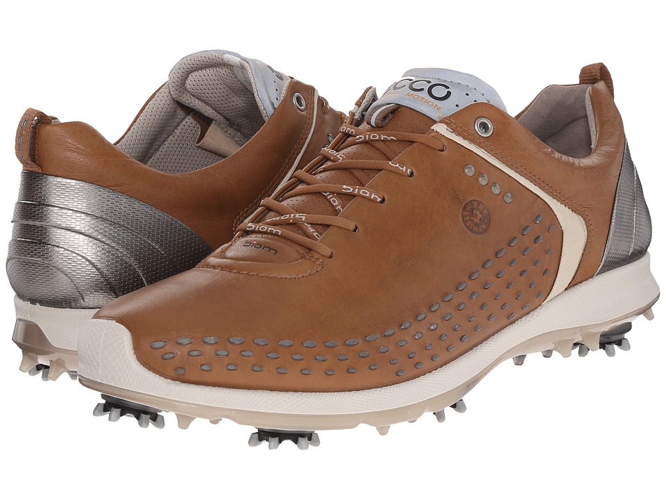 ECCO Golf BIOM G 2 Camel/Oyester Mens Golf Shoes