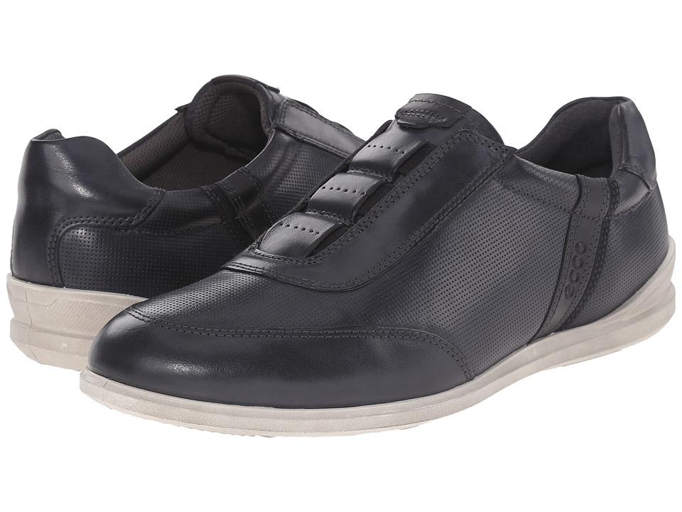 ECCO Chander Classic Slip On Black/Black Mens Shoes