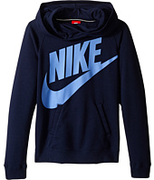Nike Kids - Rally Funnel Neck Hoodie (Little Kids/Big Kids)