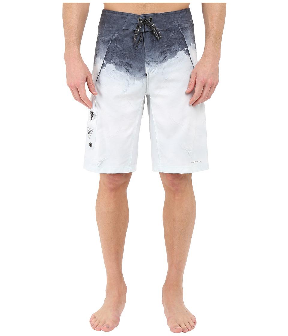 Columbia PFG Offshore Boardshort Grill Great White Print Mens Swimwear