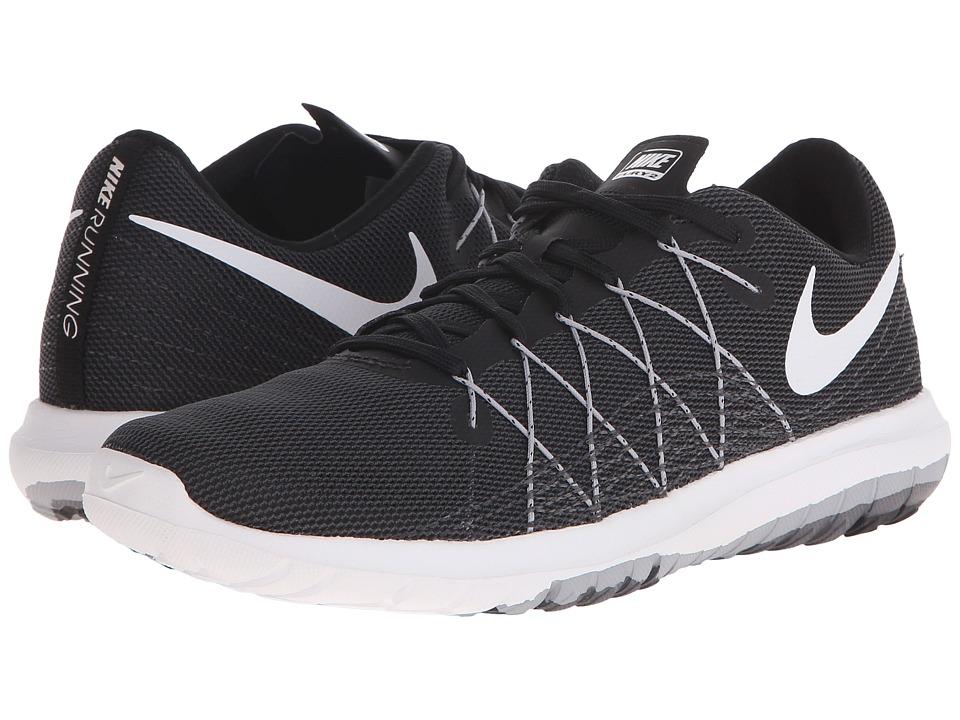 Nike Flex Fury 2 (Black/Wolf Grey/Dark Grey/White) Women