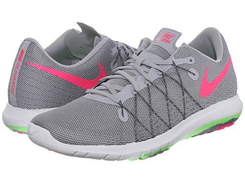 Nike Flex Fury 2 - Wolf Grey/Voltage Green/Dark Grey/Hyper Pink