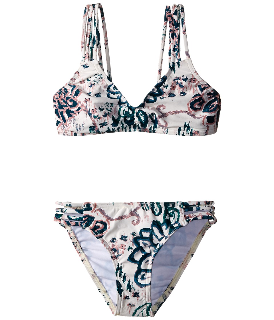 ONeill Kids Arabella Multi Strap Top Little Kids/Big Kids Sapphire Girls Swimwear Sets