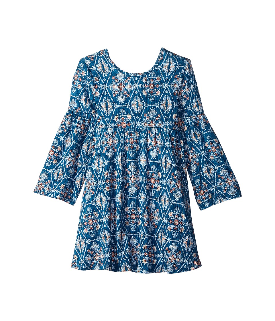 ONeill Kids Bailey Dress Little Kid/Big Kid Byron Blue Girls Dress