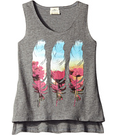O'Neill Kids - Flower Feather Tank Top (Little Kids/Big Kids)