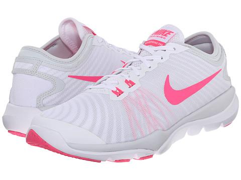 Nike Flex Supreme TR4 - White/Pure Platinum/Wolf Grey/Hyper Pink