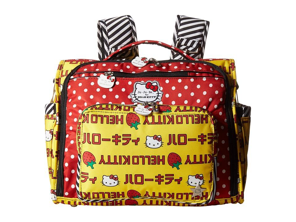 Ju-Ju-Be - B.F.F. - Hello Kitty (Strawberry Stripes) Diaper Bags