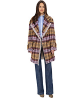 See by Chloe - Soft Check Fring Coat