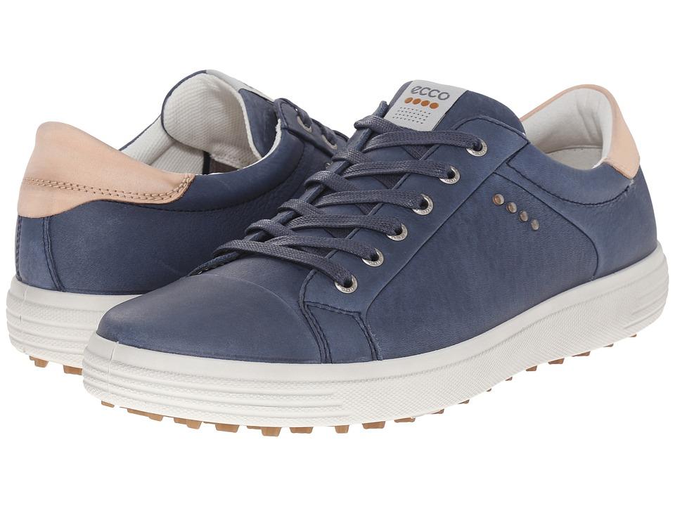 ECCO Golf Golf Casual Hybrid (Denim Blue) Men