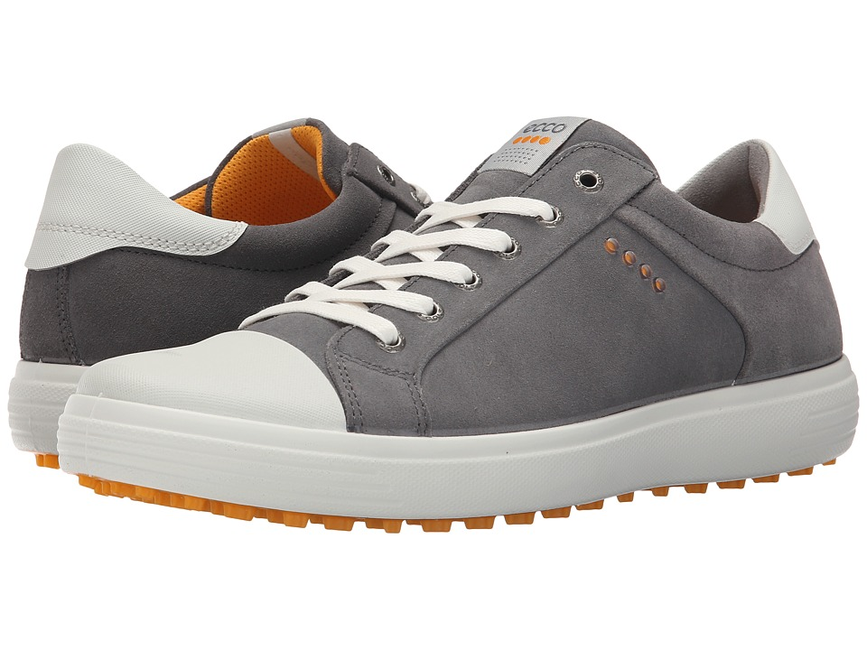 ECCO Golf Golf Casual Hybrid (Titanium/White) Men