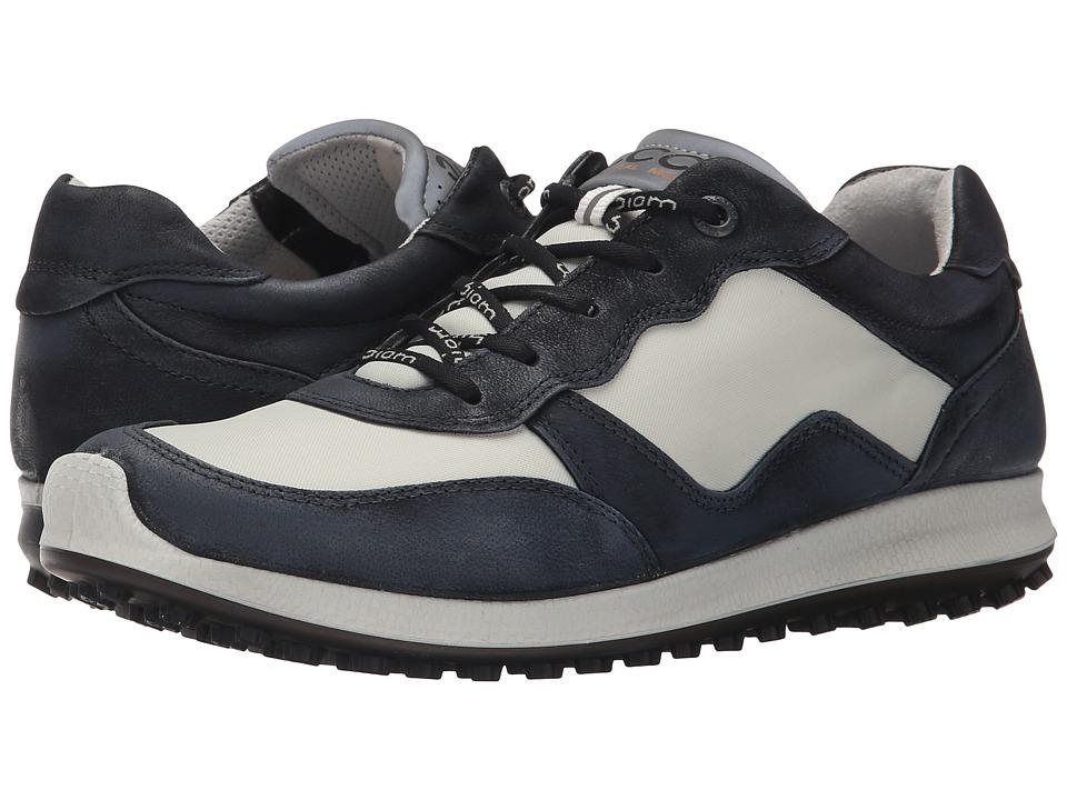ECCO Golf - Speed Hybrid (Black/Shadow White) Womens Golf Shoes