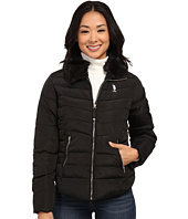 U.S. POLO ASSN. - Puffer Jacket with Removable Faux Fur Collar