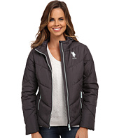 U.S. POLO ASSN. - Chevron Puffer Jacket
