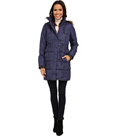 U.S. POLO ASSN. - Long Puffer Anorak with Faux Fur Trim Hood