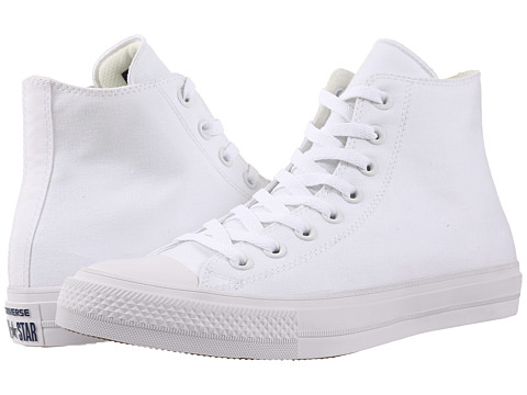 Converse Chuck Taylor® All Star II Hi - White/White/Navy