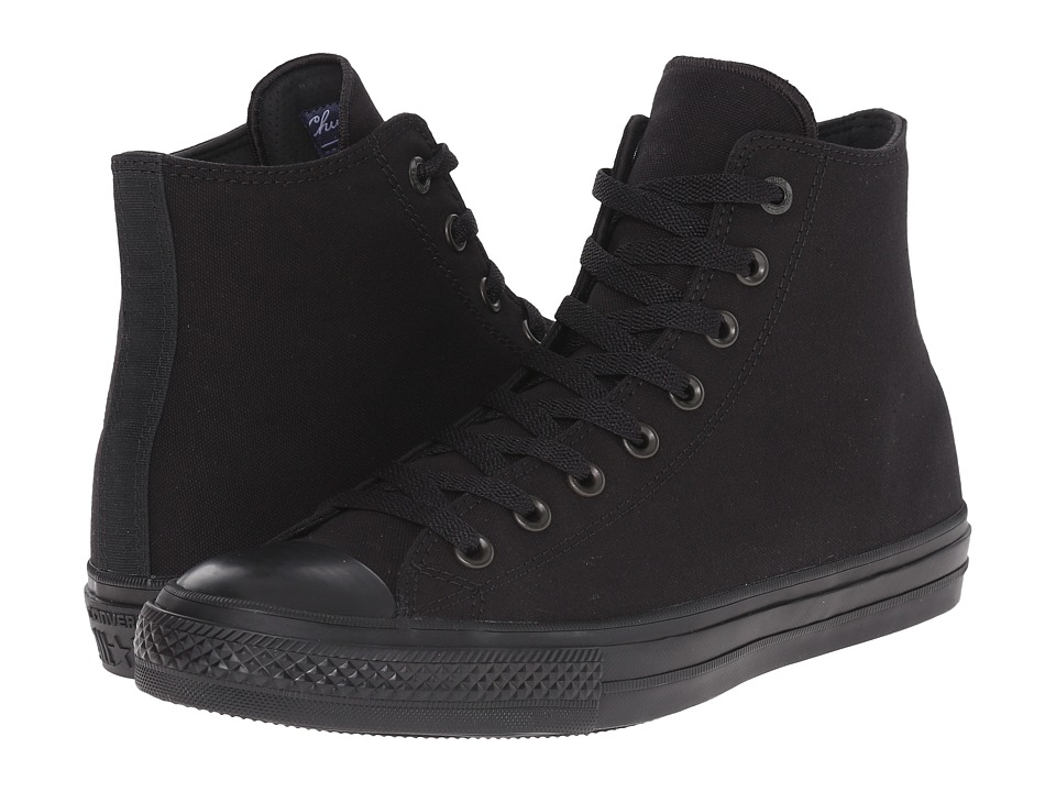 Converse Chuck Taylor All Star II Tencel Canvas Mono Hi Black/Black/Black Classic Shoes