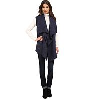 DKNY Jeans - Drape Front Nep Yarn Vest