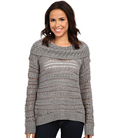 DKNY Jeans - Yarn Mix Crochet Cowl Pullover