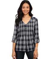 DKNY Jeans - Cotton Gauze Plaid Shirt