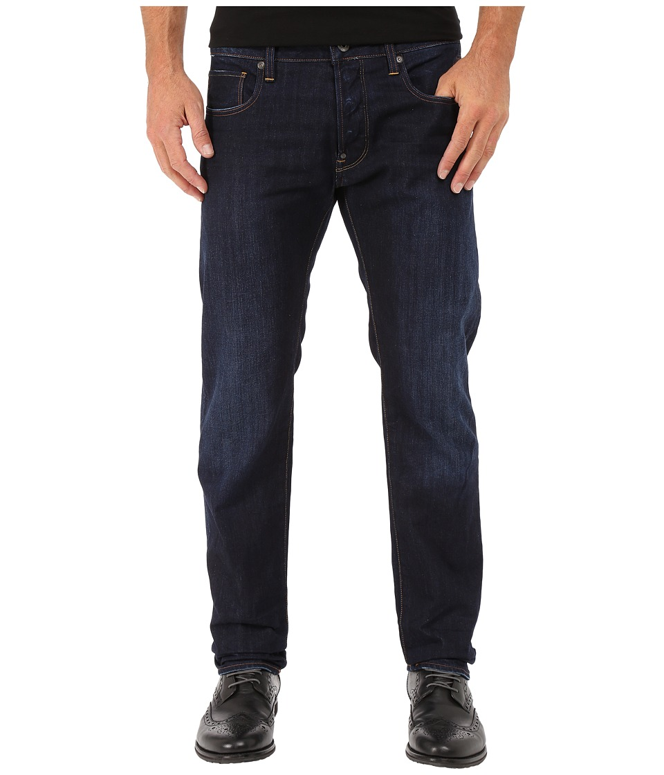 G Star Attacc Slim Straight Jeans in Hadron Denim Dark Aged Hadron Denim Dark Aged Mens Jeans