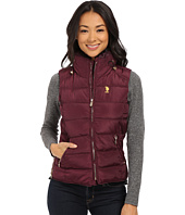 U.S. POLO ASSN. - Puffer Vest with Faux Fur Collar