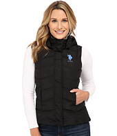 U.S. POLO ASSN. - Hooded Ribbed Collar Vest