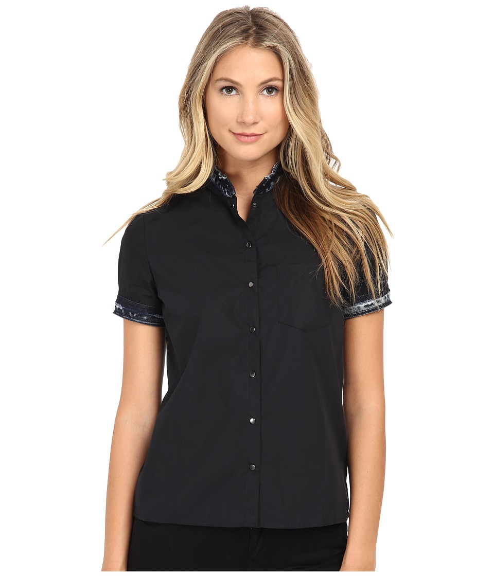 Diesel C Levi Shirt Black Womens Clothing