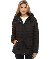 U.S. POLO ASSN. - Hooded Puffer with Self Tie Belt