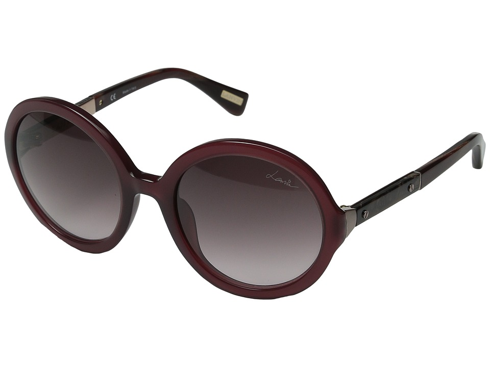 Lanvin SLN 628M Purple Plum/Gradient Brown/Pink Fashion Sunglasses