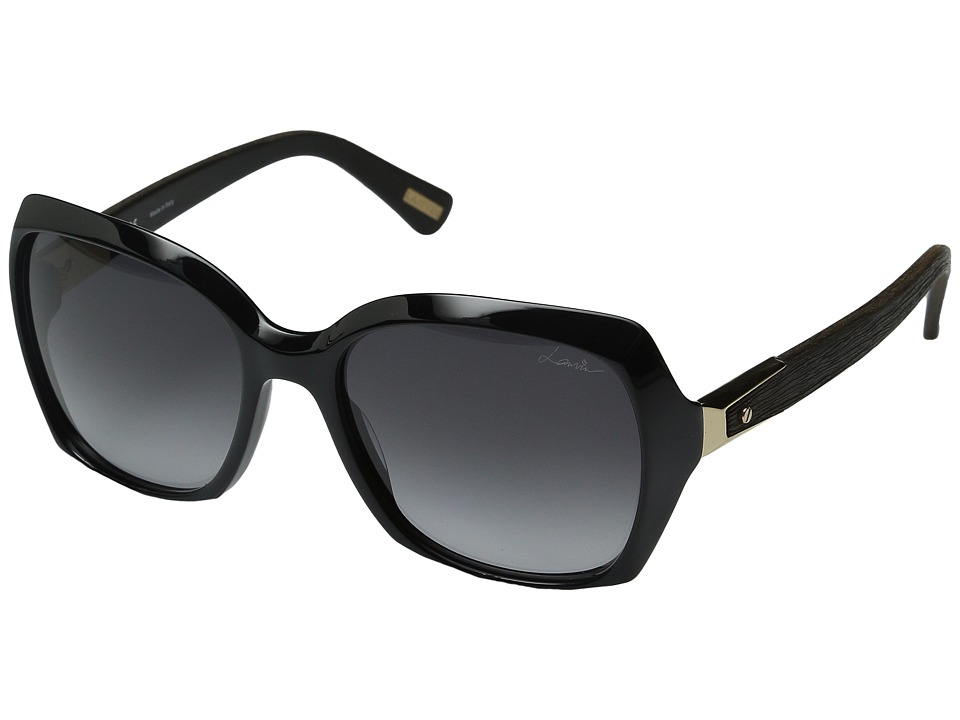 Lanvin SLN 631 Black/Gradient Gray Fashion Sunglasses