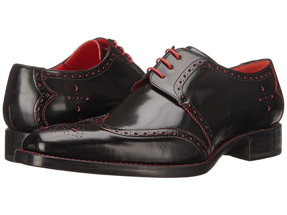 Jeffery West Bay Black Mens Shoes
