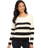 DKNY Jeans - Stripe Eyelash Pullover