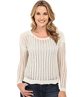 DKNY Jeans - Crochet Stitch Shine Pullover