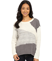 DKNY Jeans - Yarn Mix Color Block Pullover