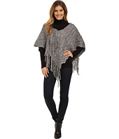DKNY Jeans - Textured Fringe Poncho