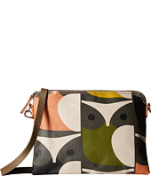 Orla Kiely - Matt Laminated Big Owl Print Travel Pouch
