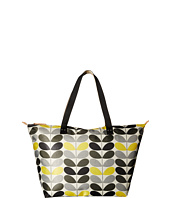 Orla Kiely - Tonal Stem Printed Zip Shopper
