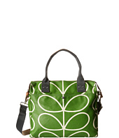 Orla Kiely - Matt Laminated Giant Linear Stem Print Zip Messenger