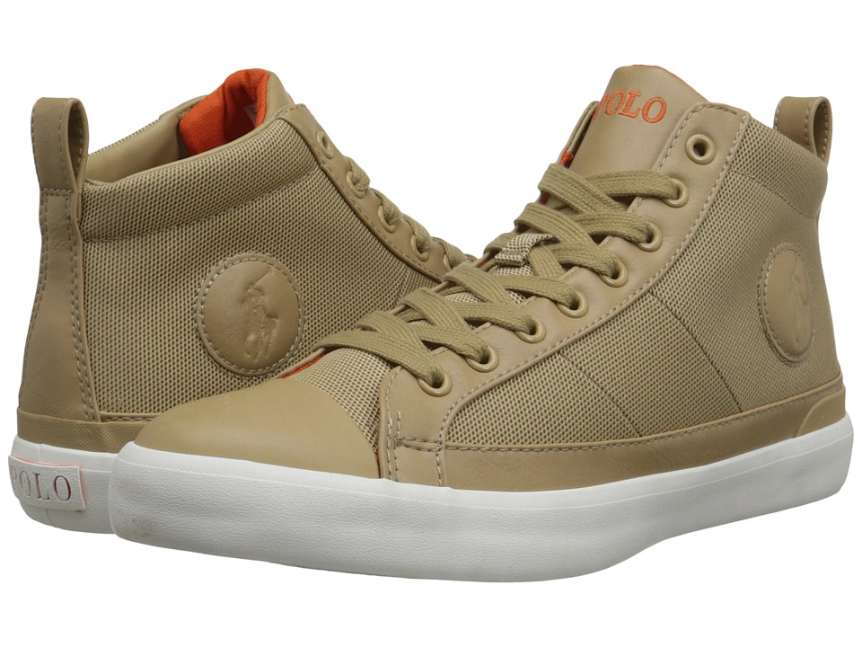 Polo Ralph Lauren Clarke (Khaki Pique Nylon) Men