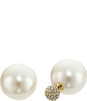 Rebecca Minkoff - Large Pearl Front to Back Earrings