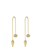 Rebecca Minkoff - Cube/Ball Threader Earrings